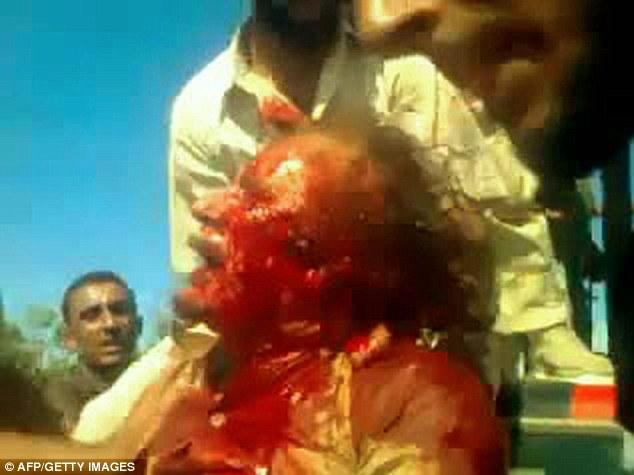 Khadaffi meninggal